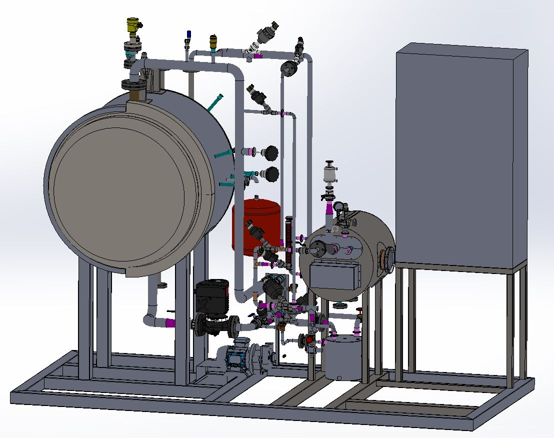 Design 3D High Pressure Autoclave